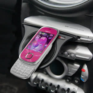 The Caraselle Nokia Dashboard Mount. Voted Best British Invention of 2011 by The British Inventors Society