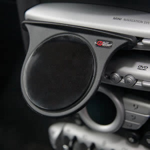 The Caraselle Car Organiser CD Slot Mount. A new British Innovation. Voted Best British Invention of 2011 by The British Inventors Society