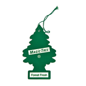 The Caraselle Magic Tree Forest Fresh Car Air Freshener (green)