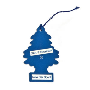 The Caraselle Magic Tree New Car Scent Car Air Freshener (blue)