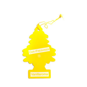 The Caraselle Magic Tree Vanilla Car Air Freshener, Vanillaroma (yellow)