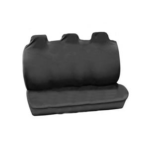 The Caraselle Rear Car Seat Protector in 100% Heavy Duty Grey Nylon