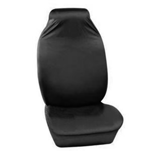 Caraselle Deluxe Heavy Duty Black Front Car Seat Protective Cover in 100% Nylon