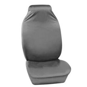 Caraselle Deluxe Heavy Duty Grey Front Car Seat Protective Cover in 100% Nylon
