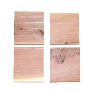 5 packs of 4 Cedar Blocks for the car, wardrobe, shoe cupboard etc