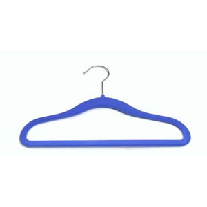 Childrens Huggable Hanger in Blue 29cm wide & 20cm high