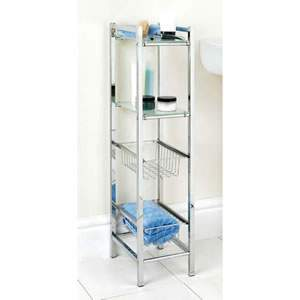 Chrome Bathroom Shelving Unit 28 Images Bathroom Wall Storage Shelving Shelves Shelf Unit