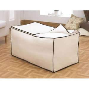 Huge Bedding Bag - Cream Nylon