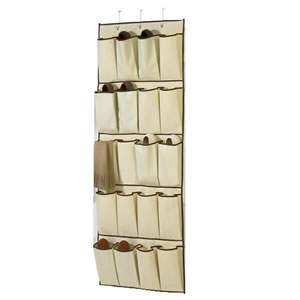1 Cream Over The Door Organizer
