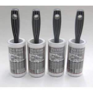Crufts Special of 4 x Caraselle Pet Hair Remover Lint Rollers