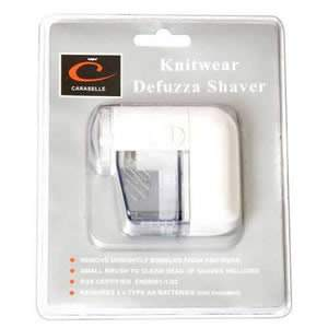 Deluxe Cordless Battery Operated Knitwear Defuzza Shaver, Debobbler & Lint Remover
