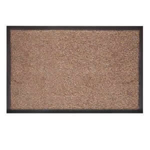 Caraselle Admiral Barrier Dirt Stopper Mat 50x80cms in Beige & Brown