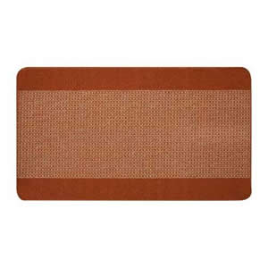 Verona Entrance Runner 67 x 120 cms Light & Dark Rust/Brown
