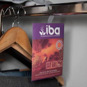 IBA Wardrobe Freshener with Removable Hook from Caraselle