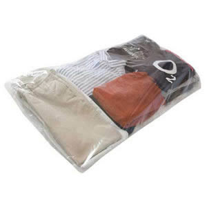 The Caraselle Pack of 3 Clear Protective Garment Bags with Lavender Fragrance to protect against Moths. 125 x 65cm