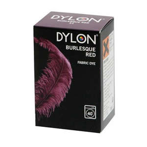 Caraselle Dylon Fabric Dye Burlesque Red 200g