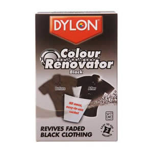 Dylon Colour Renovator Revives Faded Black Clothing
