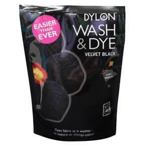 The Caraselle Dylon Wash & Dye Velvet Black 400g