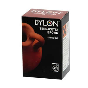 Caraselle Dylon Fabric Dye Terracotta Brown 200g