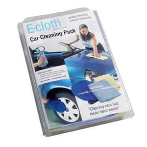 E-Cloth Car Cleaning Pack