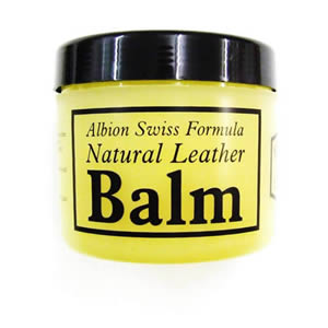 Albion Swiss natural balm 500ml for leather shine