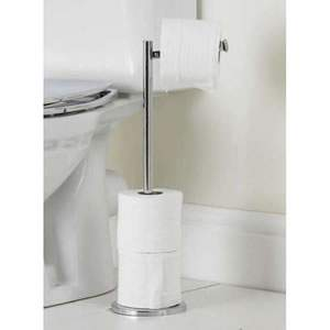 Caraselle Freestanding Lift Top Toilet Roll Holder 54.5 x 25 x 19cms