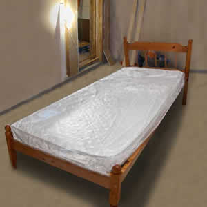 Caraselle Polythene Cover for Single Mattress 3'6""