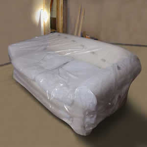 Polythene Protection Cover for  2 / 3 Seater Sofa