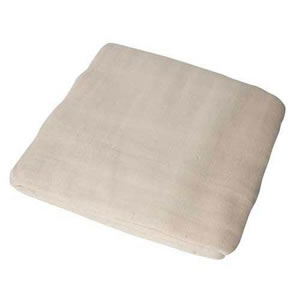 Traditional Natural Cotton Twill Dust Sheet 3.6m x 2.7m (12' x 9' approx) Made in England