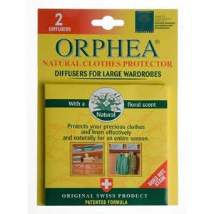 1 Pack of 2 Orphea Hanging Diffusers For Wardrobes
