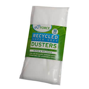 10 x Ecoforce Recycled Super Soft Dusters