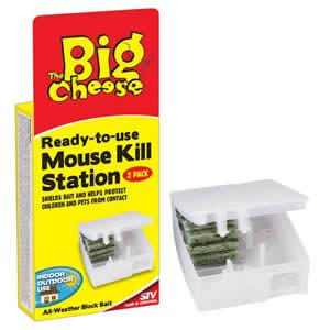 The Big Cheese Ready to Use Mouse Kill Station - 2 per pack