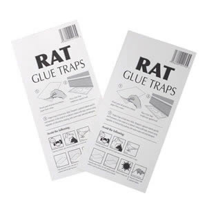1 Pack of 2 Rat Glue Traps to catch Rats