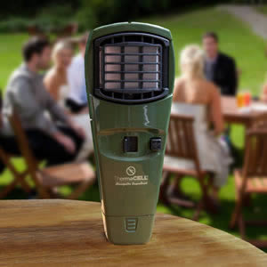 The Answer To Midges & Mosquitoes - The Thermacell Olive Appliance. Repels up to 98% of Midges, Mosquitoes & Gnats.