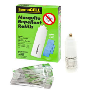 Thermacell Refill Pack contains 1 Butane Cartridge & 3 Mosquito Repellent Mats