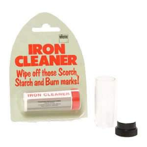 Vilene Iron cleaner, wipe off scorch, starch & burn marks