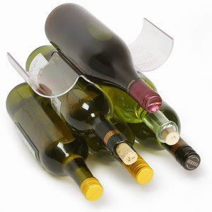 New Caraselle pack of Rakastaka Wine Bottle Stackers as seen on Dragons Den