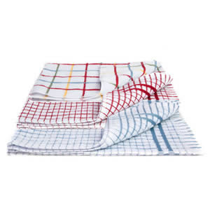 Caraselle Deluxe pack of 3 x Terry Tea Towels