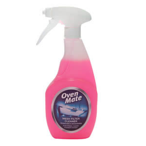 The Caraselle Oven Mate Mesh Filter Cleaner 500ml.  Degreases & Deodorises