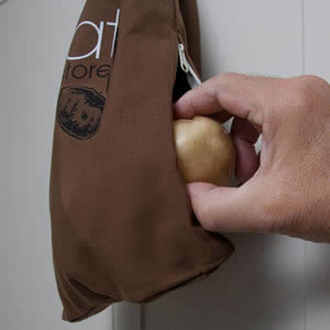 Caraselle Potato & Vegetable Storage Bag with Blackout Lining.  Keep Fresh for Longer