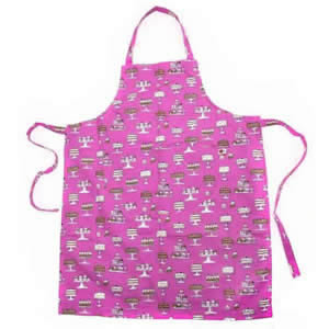C'est Ca! Deluxe Cakes Design Kitchen Apron 100% Cotton