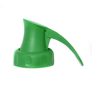 Green Topster Milk Top Pourer