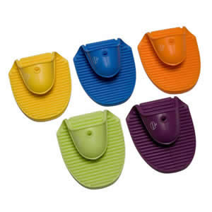 The Deluxe Orka Silicone Kitchen Pot Holder, Assorted Colours