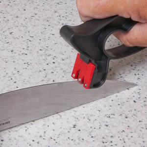 Super Sharp Knife Sharpener for Knives & Scissors