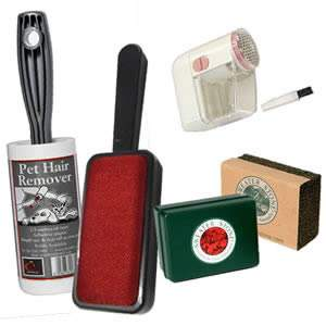 Knitwear Care Pack: Pet Hair Remover, Double Action Brush, Defuzza, Sweater Stone