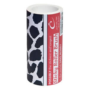 The Caraselle New Cowhide Design Roller Brush Refill with 7.5m of very Sticky Paper