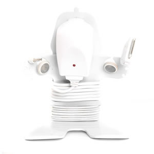 Mi Cable Tidy in White from Caraselle. Designed & Made in Britain