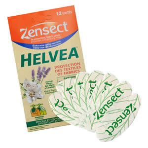 Caraselle Pack of 12 Helvea Strips of Moth Repellents for Drawers & Wardrobes