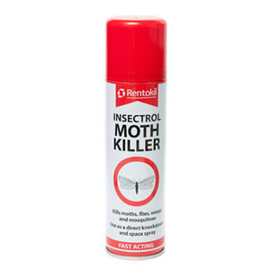 Caraselle Moth Killer Spray by Rentokil 250ml