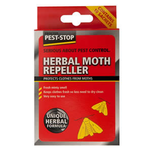 Caraselle Pack of 10 Herbal Moth Repeller Sachets